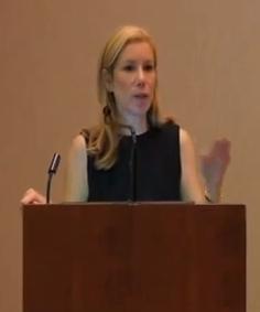 janice lintz at podium