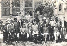 class photo 1949