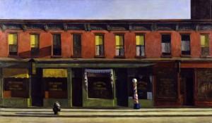 9 Hopper street scene